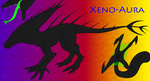 Xeno-Aura - hybrid dragon by Endless-hunter