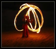 dancing with fire by pixelfree