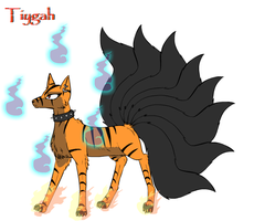 Tiygah ( With FoxFlames ) by CrypticCharmander
