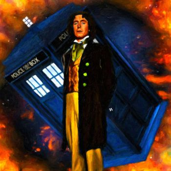Eighth Doctor by LowBassGuy