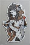 Eternal bookmark badge by SnowSnow11