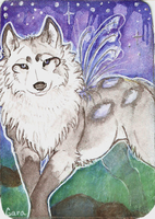 ACEO - SnowBody by AdelineMD