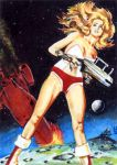 Barbarella Sketch Card by veripwolf