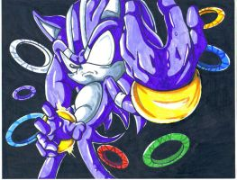 darkspine sonic by trunks24
