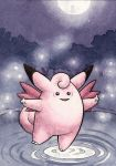 036 Clefable (ACEO) by squizzlenut