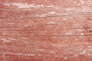 Worn Faded Red Wood by texturejunky