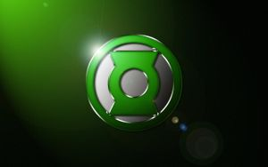 Green Lantern (John Stewart) Logo Wallpaper by SUPERMAN3D