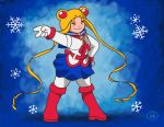 Sailor Moon Winter outfit by fabianfucci