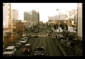 Downtown Anchorage by sking243