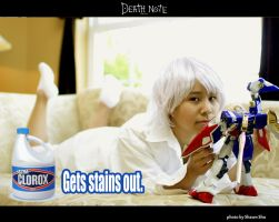 Deathnote for Fun - Clorox by shiawase-chan