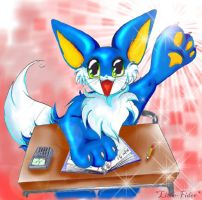 Calculus Furry Kitty by Lithe-Fider