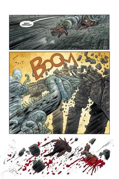 BPRD ABYSS of TIME #2 page 12 by JHarren