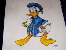 Donald Duck KH by Alex-Wolfy