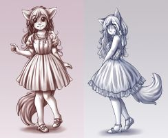 Dainty Dresses by The-kat