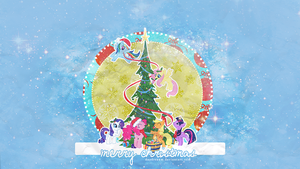 My Little Pony Christmas by daydreaam