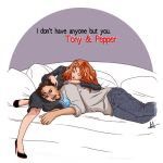 Tony + Pepper - Comfort by lilis-gallery