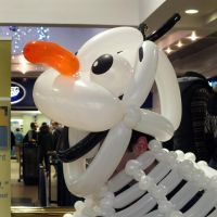 Olaf balloon cosplay 2 by ggeudraco