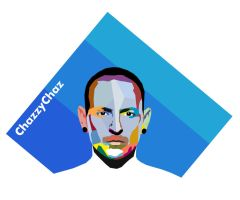 Chester Bennington WPAP by hyposchizzer