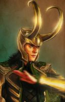 The God of Mischief by DandyBee