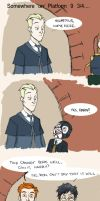 Scorpius, come here - HP by LamechO