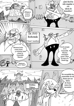 Sonic 3 y Knuckles comic Ep2 by Anzhyra