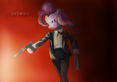 Hitman Pinkie by Salliii