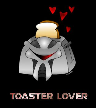 Toaster Lover by Tatenen