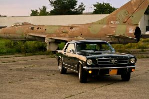 Ford Mustang 1965 Airport by patrik145