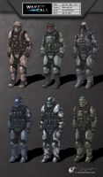 Special Ops Marines by jerwilson