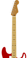 Fender Stratocaster by ShimmerScroll