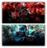 Bloodlines -- Dante and Vergil, DMC. by Shadzx2