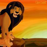 King and son by Clara-Lesedi