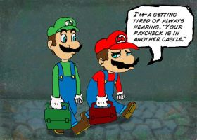 A Plumber's Lament by jsparrow