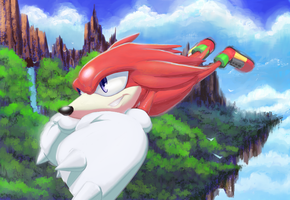 Knuckles the echidna by Tilo-of-Sky