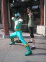 Me and the Green Ranger by Phenom-Jak