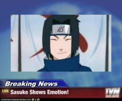 Sasuke Smiling For Once! by bekka72798