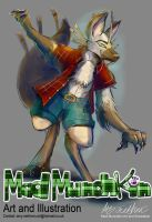 Commission Wolfgong by Mad--Munchkin