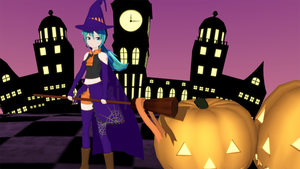 Hatsune Miku Halloween by 88-3