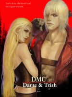 DMC   Dante and Trish by lzfrusnckop