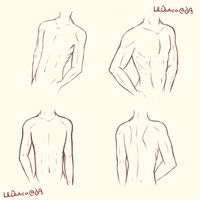 Male Pose Practice by LiilDanica