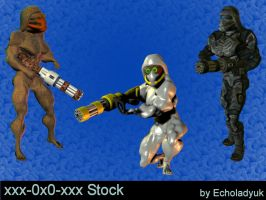 Aliens pack of 3 by xxx-0x0-xxx