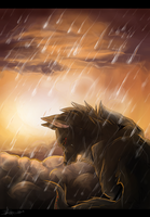 (Contest Entry) ~Rain Down~[Speedpaint] by Indecisus