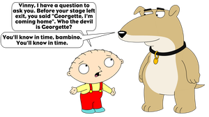 Stewie wants to know who Georgette is by LDEJRuff