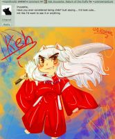 Ask Inuyasha: Attack of the Chibi Inuyasha by unknownpicture