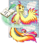 Miss Author by Akane-The-Fox