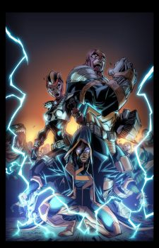 Static Shock 6:Cover by E-Mann