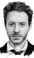 Robert Downey Junior by JuliaFox90