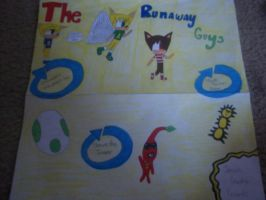 Project #2: The Runaway Guys Album Cover by The-MSP-Sketcher