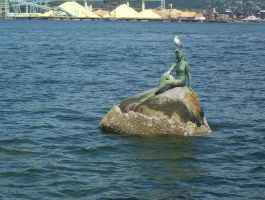 The Mermaid at Stanley Park by mc1964