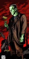 FRANKENSTEIN'S MONSTER by MalevolentNate
